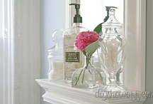 Bathroom Inspiration / My cottage/farmhouse bathroom inspiration and favorite ideas.  / by DIY Show Off