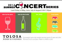 Wine Events / Winery events, winemaker dinners, local restaurant events and wine festivals! / by Tolosa Winery