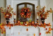 Harvest-Autumn Decor / I LOVE the Fall and Autumn....the colors are splendid, the pumpkin and spice scents are divine, and the weather is perfect!! / by Mrs. M.