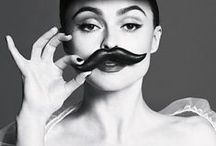 Mustaches and other epic facial hair / ~~ / by Danielle Green