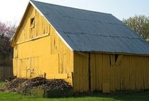 Barns, Sheds & Other Structures / Barns are an example of a manmade structure that is artful. I like art that serves a purpose. As barns age, they only get more beautiful. / by Marcea S