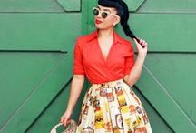 Modern Vintage Lifestyle / Modern fashions with vintage influence / by Lucky Lucille