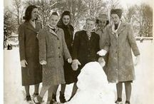 1940s Winter Clothing / WWII and 1940s era cold weather fashions / by Lucky Lucille