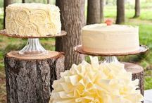 {Wedding} Woodland Cake. / The Woodland Wedding themed cake! / by Topnotch Resort
