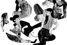 Illustration / Illustrations, drawings, and doodles! / by Avril Loreti | Modern Home