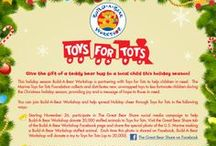 Holiday Gifting / See all of the great 2013 #bearholiday gift ideas for everyone on your list! / by Build-A-Bear Workshop
