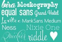 Fancy Fonts / by Cassandra Thibault
