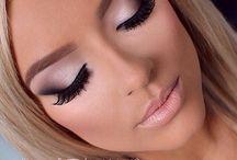 make up, hair / by Morgan Dahl