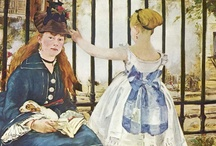 """Impressionism / """"There isn't a single person or landscape or subject which doesn't possess some interest, although it may not be immediately apparent. When a painter discovers this hidden treasure, other people are immediately struck by its beauty. """" Pierre Auguste Renoir / by An-Sofie Van Loocke"""
