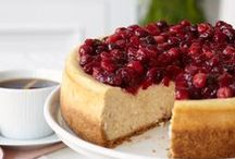 Delectable Holiday Desserts / From cheesecakes and pie recipes, to sweet potluck favorites, everyone knows the best part of Thanksgiving is dessert!   / by Philadelphia Cream Cheese