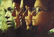 Orphan Black / Orphan Black is a Canadian science fiction television series created by screenwriter Graeme Manson and director John Fawcett, starring Tatiana Maslany as several identical people who are revealed to be clones.  / by Merky