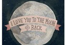 for sam, char, tess / for sam, charlie, and tessa....i love you more than the moon, more than the stars...i love you to the moon and back...you are so very, very, very, special to me. xoxoxo, grand-ee / by oh~sarah-oh-sarah mcteer-ogburn
