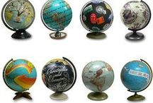 Maps & Globes / by Jeannette Wilford