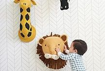 Baby Nursery Design / Hot looks for baby's pad. Decor pronounced with an accent, bien sur / by Satsuma Designs