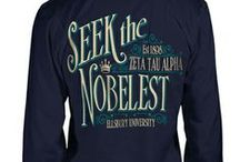 ZTA Shirt Inspiration / by Zeta Tau Alpha Fraternity