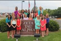 Traveling Leadership Consultants / This board introduces you to our 2013-2014 TLCs. Click on their picture to see a full bio.  / by Zeta Tau Alpha Fraternity
