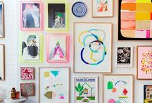 gallery walls / by Mary Straton Smith