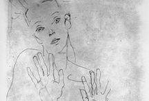Egon Schiele / by Mieko Wakita