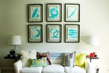 living room re-do / by Mary Straton Smith