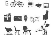dingbats & tipos / by KRAFT★CROCH | Marisa