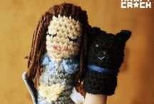 kraftcrochitos / #crochet #fingerpuppets #marionetas  / by KRAFT★CROCH | Marisa