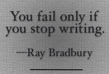 Writing / by Juanita Radelfinger