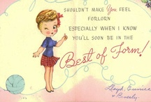 Vintage greeting cards (1) ** / by Leah Bell