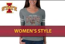 Women's Style / Visit Cy's Locker Room for official gameday gear! / by Iowa State Athletics