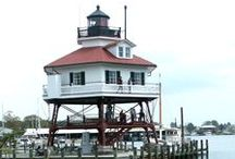Architectural Lighthouses / Lighthouses with architectural style! / by Coastal Designs