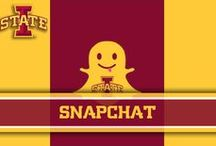 Snapchat / Snapchat / by Iowa State Athletics