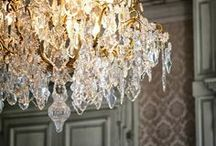 Chandeliers / I'm happy to say that this board has been picked to be one of the recommended boards for new Pinners to follow when they first sign up for Pinterest.  / by Anne Davis Design
