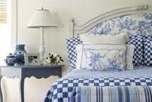 Home Decor:Making the Bed / In the bedroom...the bed is the center of attention.  I love them loaded with beautiful linens and a quilt to fit the holiday or season.  Variety is the spice of life. / by Penny Spinster