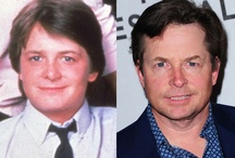 "Celeb Stars~Then & Now / Pics of celebs as they were ""then"" and ""now"" / by Angel Debbie"