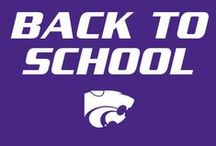 Back to School / It's that time of the year again! Check out the latest K-State back to school looks for your little Wildcat! / by K-State Sports
