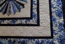 Quilting Borders and Finishes / When creating a quilt you need to decide how you want to finish it.  This board is to provide choices and inspirations. / by Penny Spinster