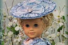 Stitchery:Doll Clothes/Styling / Doll clothing.  You truly enter make believe when you begin to dress you dolly.   / by Penny Spinster