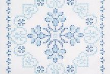 "Stitchery:Cross Stitching Too / More cross stitch patterns and ideas.  Wouldn't it be fun to fill my days with sewing?  Now if I could only get off ""Pinterest"". / by Penny Spinster"