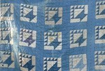Quilts:Vintage / A collection of old vintage quilts  left as heirlooms with great stories about who made them and how their life was during the time they were created....I love them all.  I wish I could see them all. / by Penny Spinster