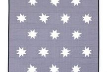 Quilting:Patriotic/Valor / Using red, white, and blue is a very favorite of mine.  I buy lots of the patriotic fabrics.  You can find vintage quilt block patterns that were created to depict different places or war formations.  Some of the vintage quilts depict these things. / by Penny Spinster