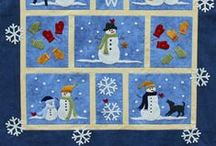 Quilting:Wall Hangings / Once again Pinterest is full of examples of wall hangings and little quilts that are adorable.  I just wanted to have a wall for these darling quilts. / by Penny Spinster