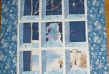 Quilting:Attic Windows / Another quilt from a very cute pattern.  People are so talented and creative.  I'm always looking for new ways to do old things.   Pinterest gathers all these areas together. / by Penny Spinster