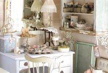 ≈ Atelier ≈ / Craft room / by Carine Peeters