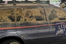 Dirty Car Art / by Mar Hearts Chris Forever