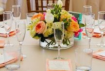 "Centerpieces & Bouquets / Beautiful flowers full of life, love and happiness!  These bouquets have the ""wow"" factor!  All the centerpieces revolve around floral focal points, too! / by Tapestry House"
