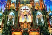 Architecture: Cathedral/Basilica interiors / by Barbara Bengel