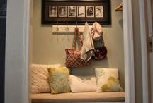 Mudroom Ideas / by Emily Okaty Wilson @ My Pajama Days