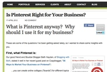 Pinterest Interest / All Things Pinterest / by Bethany Siegler