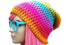 Crochet Hats & Headbands / by Andrea Cortez Dabu