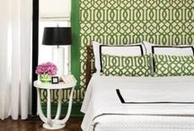 An Exquisite Affair • Coordinating Fabric & Wallcovering / by Schumacher — Home Décor