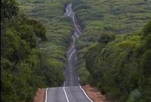 ~ ROADS  / alley - chemin - avenue - ruta - boulevard - strada - drive -  caminho - lane - drum - pathway - Straße - trail - path - Weg - street - estrada - highway -  via - calle - camino - route - carretera / by Tere Sa
